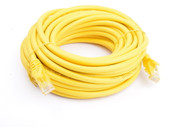 Cat 6a UTP Ethernet Cable, Snagless  - 10m Yellow