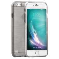 Promate 'Schema-i6P' Premium Flexible Metallic Styled case for Iphone 6P/6SP -Grey