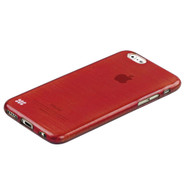Promate 'Schema-i6P' Premium Flexible Metallic Styled case for Iphone 6P /6SP-Red