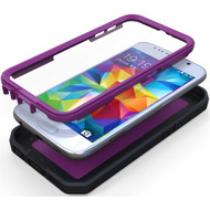 Promate 'Armor-S6' Impact-Resistant Case for Galaxy S6 w/built-in HD Screen Protector - Purple