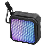 Promate 'Flash' Wireless Rugged Speaker w/LED Light Equaliser Display - Black