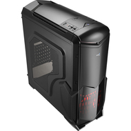 Aerocool Battlehawk - Black Mid Tower Case w/Window