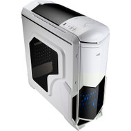 Aerocool Battlehawk - White Mid Tower Case w/Window