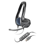 Plantronics .Audio628 DSP Lightweight USB Stereo PC Headset, Skype Certified w/Calls Control