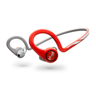 Plantronics 'Backbeat Fit' Behind-the-Head Wireless Headset w/Carry Case - Lava Red