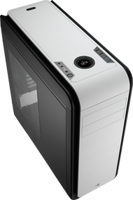 Aerocool DS 200 - Black /White Edition Mid Tower Case w/Window