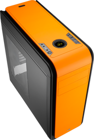 Aerocool DS 200 - Orange Edition Mid Tower Case w/Window