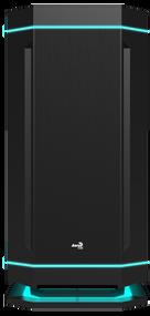 Aerocool DS230 Black PWM Fan, USB 3.0 x 2 + PWM/LED Board Mid Tower Case w/Window