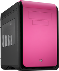 Aerocool DS Cube - Pink Edition w/Window - mATX /Mini ITX Case