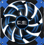 Aerocool DS Fan 12cm-Blue w/LED, Dual Material, Fluid Dynamic Bearing, Noise Reduction