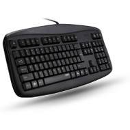 Rapoo N2500 Black Entry-level Wired Keyboard