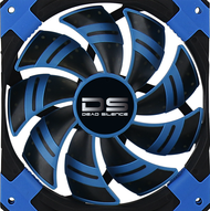 Aerocool DS Fan 14cm-Blue w/LED, Dual Material, Fluid Dynamic Bearing, Noise Reduction