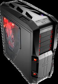 Aerocool GT-S-Black Full Tower Case w/Window,2x20+14cm FAN Ctrl,2xUSB3.0, 2xUSB2.0,HD Audio