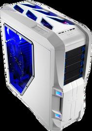 Aerocool GT-S-White Full Tower Case w/Window,2x20+14cm FAN Ctrl,2xUSB3.0, 2xUSB2.0,HD Audio