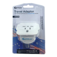 Travel Adapter for 240V Equipment from Britain/USA/Europe/Japan/China/Hongkong/Singapore/Korea