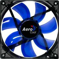 Aerocool Lightning Fan 12cm-Blue w/LED, 7-Blade Design, 41.4CFM, 22.5DBA