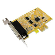 Sunix MIO6479AL PCIE 2-port Serial RS-232 & 1-port Parallel IEEE1284 Card - Low Profille