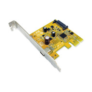 Sunix USB2311C USB3.1 Enhanced SuperSpeed Single port PCI Express Host Card with USB-C