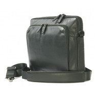 "Tucano 'One' Premium Leather Slim Bag for 13"" Notebooks - Dark Green"