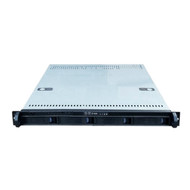 Rack Mountable Server Chassis Case 1U 650mm Depth with 4 Bays Hot-Swap - no PSU