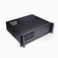 TGC Rack Mountable Server Chassis Case 3U 380mm Depth with ATX PSU Window - no PSU