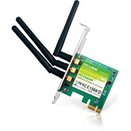 TP-Link 450Mbps Wireless N Dual Band PCI Express Adapter, Atheros, 3T3R, 2.4GHz/5GHz