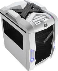 Aerocool Strike-X Cube-White Gaming Case, mATX/Mini ITX , 20+14cm FAN Ctrl, 2xUSB3.0, HD Audio
