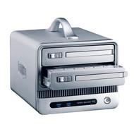 TerraMaster F2-NAS 2 NAS Device, 2x 3.5' SATA Bays, RAID 0/1, JBOD, Gigabit, USB 3.0, BT