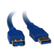 USB 3.0 Certified Extension A-A M-F Cable 2m