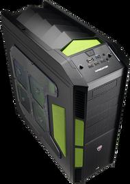 Aerocool Xpredator Evil Green Edition Full Tower Gaming Case