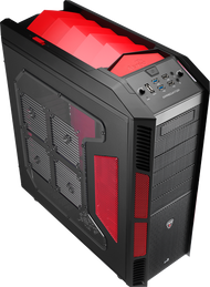 Aerocool Xpredator Devil Red Edition Full Tower Gaming Case