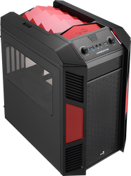 Aerocool Xpredator Cube Devil Red Edition mATX /Mini ITX Gaming Case