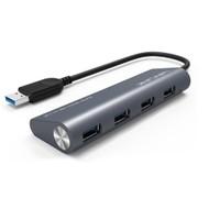 Wavlink USB 3.0 to 4-port Hub - Black