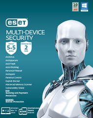 ESET Multi-Device Security 5+5 2 Years Retail Download Card