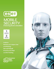 ESET Mobile Security - 1 Device 2 Years Retail Download Card
