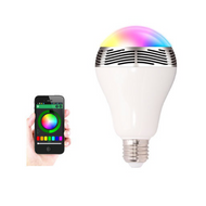 BSR LED Bulb with Bluetooth and Built-in Speaker