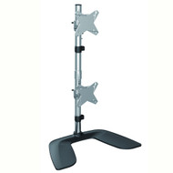 """Brateck Free Standing Dual Vertical LCD Monitor Stand from 13''-27"""""""