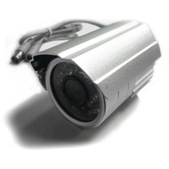 "Security Day & Night Camera 3.6mm Fixed Len, 1/4"" Sharp Color CCD, 420 TVL, 26 LED, 25m IR, Metal"