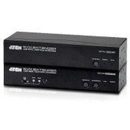 Aten USB Dual VGA KVM Console Extender with Audio and RS232 - 1920x1200 or 150m Max