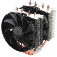 Deepcool Frostwin CPU Cooler (2011/1366/1155/775, FM1/AM3/2+) with 4 Heatpipes and Dual 120mm Fans