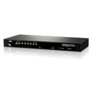 Aten 8 Port Rackmount USB-PS/2 VGA KVM Switch with OSD