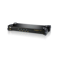 Aten 4 Port Rackmount PS/2 KVM Switch with OSD