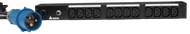 Delta Basic 16A 1U PDU - 12x C13 Outlet