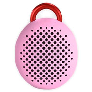 Divoom Bean Bluetooth Wireless Speaker, Speakerphone, Carabiner, Pink