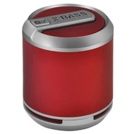 Divoom Bluetune Solo Bluetooth Wireless Speaker Speakerphone, Rechargeble Battery, BT Dongle, Red