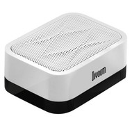 Divoom iFit-1 Portable Speaker, Smart Stand, 360-Degree Sound Field, Up To 6H Playback, White