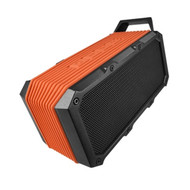 Divoom Voombox-Ongo Rugged Portable Bluetooth Speaker, Weather Resistant, Bike Mount, Orange