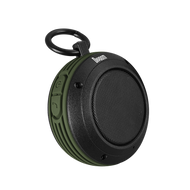 Divoom Voombox-Travel Rugged Portable Bluetooth Wireless Speaker, Splash Resist, Speakerphone, Green