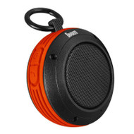 Divoom Voombox-Travel Rugged Portable Bluetooth Wireless Speaker,Splash Resist, Speakerphone, Orange