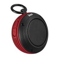 Divoom Voombox-Travel Rugged Portable Bluetooth Wireless Speaker, Splash Resist, Speakerphone, Red